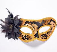 maskeli kukla için maskeler toptan satış-2017 Yeni Karnaval maskesi Lady Seksi Moda Cadılar Bayramı maskesi Masquerade Maskeleri Noel partisi Kaş topu maskesi