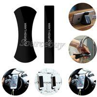Wholesale nano tablet for sale - Nano Rubber Flourish Lama No glue Multi purpose cell phone car kits Car bracket pods holder washable sticker for iPhone Tablet