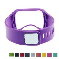 Wholesale Rubber Wristband Watches Colors - Replacement Smart Watch Band for Samsung Gear S R750 Silicone Rubber WristBand Strap 10 Colors For Choose