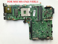 Wholesale Msi Motherboard I7 - High quality Laptop motherboard FOR MSI GT70 MS-17621 VER2.1 HM77 SLJ8C PGA989 DDR3 Support I7 CPU 100% Fully tested