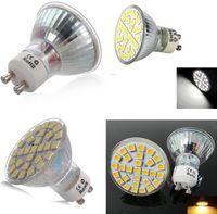 mr16 led bombillas calientes al por mayor-MR16 GU10 E27 Bombillas LED 29SMD 5050 LED Proyector 5W Puro / Frío / Cálido Enery Ahorro Spot Lámpara de luz Bombilla 110-240V LED Downlight