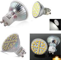 mr16 led sıcak ışık ampulleri toptan satış-MR16 GU10 E27 LED Ampuller 29SMD 5050 LED Spot 5 W Saf / Soğuk / Sıcak Beyaz Enery Tasarruf Spot Işık Lambası Ampul 110-240 V LED Downlight