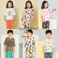 Wholesale Sets Jumping Beans - BMH 0086 Jumping Beans Retail 1pcs Striped suit Boy's Suits Long Sleeve Pajamas Set Children's