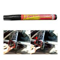 Wholesale Fix Paint Car - Fix it PRO Car Coat Scratch Cover Remove Painting Pen Car Scratch Repair for Simoniz Clear Pens Packing Car Care 3002056