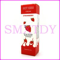 Wholesale Adult Cream - A0270 Hot kiss cream,Strawberry lubricant,sex oil,Sex products,adult sex toy q1711243