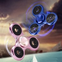 Wholesale DHL Tri Spinner Fidgets Toy Metal EDC Sensory Fidget Spinner For Autism and ADHD Funny Anti Stress Toys