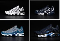 Wholesale Royals Cake - 2017 New Running Shoe Men TN Shoes Sell Like Hot Cakes Fashion Increased Ventilation Casual Shoes High Quality Sneakers Shoes size 40-46