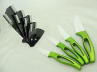 Wholesale Web Kits - 2016 Selling Well Ceramic Type Kitchen Knives Kits Eco-Friendly Ceramic Knife Kits Hot Selling on web Shop