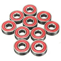 Wholesale Details about Roller Skateboard Sealed Ball Bearings ABEC RS RS x22x7mm Red