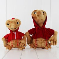 Wholesale Doll 19 - 19-25CM The Extra-Terrestrial E.T. Plush Soft Stuffed Doll Toy for kids gift toy free shipping retail