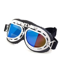 Wholesale Motorcycle Bike ATV Motocross UVProtection Ski Snowboard harley Goggles FITS OVER RX GLASSES Eyewear Lens
