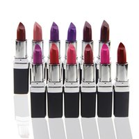 Wholesale Multicolor Lipstick - Popular Dark Purple Lipstick In Multicolor Mainly Apply For Waterproof Lasting And Non-dizzy Lip Beauty Lipgloss Product