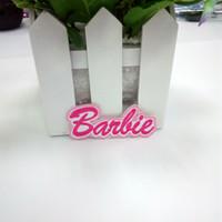 ingrosso badge ironing bambini-Barbie Patch Ricamato il ferro sulla decorazione applique in tessuto applique carino per bambini di Rockabilly
