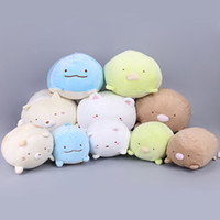 "Wholesale Pillow Anime - Hot New 5 Styles 8"" 20CM San-X Plush Doll Anime Sumikko Corner Biological Animals Soft Dolls Pillows Best Gifts Stuffed Toys"