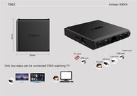 Wholesale Dvb T Pc - 20 PCS Original T95X 2G+8G Android6.0 TV Box Amlogic S905X Bluetooth WIFI 4K H265 HDMI 2.0 Smart TV HDTV KODI16.1 Preinstalled