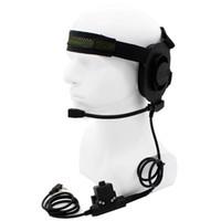 auriculares elite ii al por mayor-Al por mayor-HD01 Z Tactical Bowman Elite II Headset con estilo U94 Pfor Kenwood BaoFeng UV-5R UV-82 BF-888S BF-F9 V2 + PuXing TYT KG-UV8D