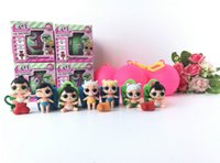 Wholesale Horror Figures - Girls Dolls LOL Surprise Lil Sisters Series 2 Lets be Friends Action Figures Toys Baby Doll with retail box Kids Gifts