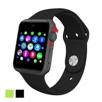 Wholesale Smart Phone Remote Support - DM09 Bluetooth Smart Watch MTK2502C Phone Watches Support SIM Card 2.5D ARC HD Screen Camera Wearable SmartWatch Magic Knob Sync For Android