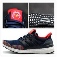 Mesh black chinese shoes - CHINESE NEW YEAR Originals boost low Ultra Boost Mens sport shoes Sneakers Women Running Shoes For Men Sports Boys Shoes