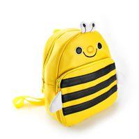 Wholesale Kindergarten School Bag Leather - Luggage Bags Backpacks Backpack Children'S Gifts Kindergarten Boy Backpack Pu Leather Children School Bags Girls Cartoon Animal Toy Bags