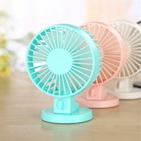 Wholesale ABS Material Mini Two Blade USB Desk Fan v mini noiseless usb powered kids table fan