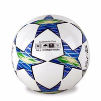 Wholesale Tpu Soccer Ball - Fashion Size 5 Anti-slip Pure Hand Sewn Soft TPU League Soccer Football Ball For Training Competition