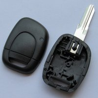 Wholesale Master Car Parts - Replacement Remote Key Shell Case Fob 1 Button for RENAULT Twingo Clio Kangoo Master Car Auto Parts Key Case Fob with battery place