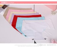 Wholesale Red Underwear For Sale - Hot sale seamless briefs panties for women made of breathable cool ice silk viscose, mid waist summer underwear NK-004