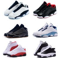 Wholesale Cheapest Low Cut Basketball Shoes - [With Box] 2016 Factory Store Mens New Air Retro 13 13s Low Retro Basketball Shoes Sneakers Cheap Good Quality XIII Original Quality shoes