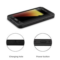 Wholesale solid color case note for sale - 2016 Shell Waterproof Shockproof Dirt Snow Proof Durable Dot Case Cover for Sumsung note7 note solid color backcover