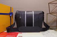 bolsas de banda venda por atacado-APOLLO MENSAGEIRO PM bifurcado por uma banda preta com reflexo guarnição colorido saco de hardware arco-íris messenger casual shouder bag bolsa crossbody
