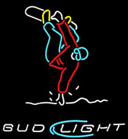 Bud Light Snowboard Trickster Neon Sign fatto a mano su misura Real Glass Tube Sport Game Store Beer Bar Disco KTV Club Neon Sign 20
