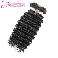 Wholesale Cheap Human Hair Weave Online - Brazilian Wave Human Hair Bundles 2pcs Lot100% Deep Wave Human Hair Factory Selling Cheap Brazilian Hair Weave Online