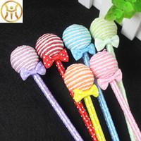 ingrosso cancelleria carina per i bambini-DHLSF_Express invia Kawaii Lollipop Penne a sfera 19,5 cm Cute School Stationery Kids Novità Regalo Forniture per ufficio (2)