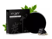 natürliche feuchtigkeitsspendende seife großhandel-Bambuskohle Handgemachte Seife Hautpflege Natürliche Hautfeuchtigkeitsspendende Seife Mitesser Entferner Oil Control Akne-Behandlung