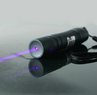 ingrosso caccia di torce laser verde-AAA NUOVO forte potere, 5000 m 532nm ad alta potenza Verde Rosso Blu Viola puntatori laser possono potente Lazer Beam Militare Torcia regalo di caccia