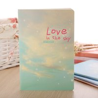 All'ingrosso-Corea Cartoleria Carino Kawaii Notebook Forniture scolastiche Agenda Binder Writing Pads Dente personale Staionary Sketchbook Love Sky