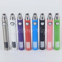 Wholesale V Cig Rechargeable - e-cig vape pen ugo v ii 650mah 900mah ego pens battery 5 pin usb passthrough charge 510 thread e-cigs vapoirzer battery rechargeable