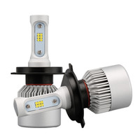 2Pcs H4 LED H7 H11 9005 9006 HB4 S2 CSP Chip Auto Phare avant 72W 8000LM High Low Beam All In One Automobiles Lamp 6500K 12V