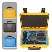 Wholesale Plastic Flight Cases - DJI Mavic Pro Drone Portable Waterproof Plastic Suitcase Upscale Tool Storage Box Case Standard Advanced Protection Quadcopter