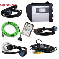 Das Multiplexeur Pas Cher-Meilleur A + Qualité MB Étoiles C4 SD Connect Star Diagnostic + Xentry DAS 2015.09 Compact 4 Multiplexeur Pour Mercedes Benz Outil De Diagnostic