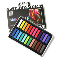 Wholesale Temporary Color Dye Crayons - Hot Selling 24 Colors Fashion Hair Chalk,Popular &Temporary Color Hair Chalk,Free Shipping&Good Quality 24 Dye Hair Crayon