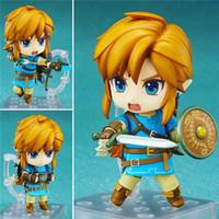 Wholesale Zelda Pvc Figure - Demishop Nendoroid Series #733 The Legend of Zelda Breath of the Wild Link PVC Action Figure Collectible Model Toy