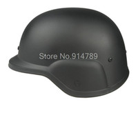 Wholesale Helmet M88 - Wholesale-US PASGT SWAT AIRSOFT M88 STYLE PLASTIC HELMET BLACK-34247