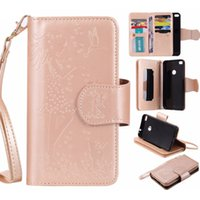 Wholesale Wholesale 3d Photo Frames - 3D Embossed Multifunction PU Leather Stand Wallet 9 Card Holder With Photo Frame Mirror Case For LG K7 K8 K10 Nexus 5X X Power 5.3