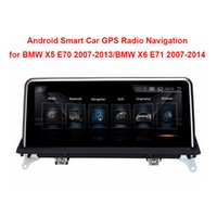 """Wholesale X5 Multimedia - 10.25""""Touch Android Car Raido GPS for BMW X5 E70(2007-2013) BMW X6 E71(2007-2014) Intelligence Car Multimedia Player"""