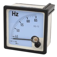 sq meters - Hz Frequency Accuracy Class Tester Analog Panel Meter SQ AC V