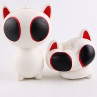 Wholesale Cute Animals Big Eyes - Jumbo squishy big eye cat wholesale 15cm simulation animal bread cake is fragrant and soft the Cute squishies Decompression Toy