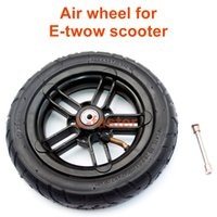 """Wholesale Inch M6 - 8 Inch Inflated Wheel For E-twow S2 Scooter M6 Pneumatic Wheel With Inner Tube 8"""" Scooter Wheelchair Air Wheel Can Loading 100Kg"""