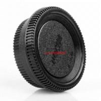 Wholesale Dslr Camera Lens Caps - New 10X Front Body Cover + Rear Lens Cap Hood Protector for D80 D90 D3000 D3100 D5000 DSLR Camera Bayonet Mount